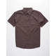 LOST Breezy Black Mens Shirt
