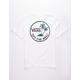VANS Dual Palm White Boys T-Shirt