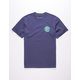 BRIXTON Rival II Royal Mens T-Shirt