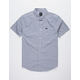 RVCA That'll Do Stretch Light Blue Mens Shirt