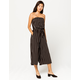 MIMI CHICA Stripe Womens Tube Jumpsuit