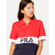 FILA Tiki Quarter Zip Womens Polo Shirt