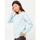 THE NORTH FACE Heritage Light Blue Heather Womens Sweatshirt