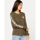 THE NORTH FACE Brand Proud Olive Womens Tee