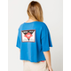 RVCA Flint Womens Crop Tee
