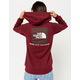 THE NORTH FACE Red Box Burgundy Womens Hoodie