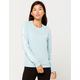 THE NORTH FACE Brand Proud Light Blue Womens Tee