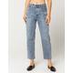 RVCA Holli High Rise Straight Leg Womens Jeans