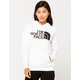 THE NORTH FACE Half Dome White Womens Hoodie