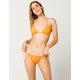 O'NEILL Salt Water Solids Tie Sides Orange Bikini Bottoms