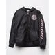 SANTA CRUZ Cloud Check Black Girls Windbreaker Jacket