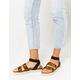 YOKI Chiara Leopard Womens Espadrille Flatform Sandals