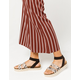 YOKI Chiara Snake Womens Espadrille Flatform Sandals