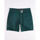 RSQ Twill Teal Blue Mens Chino Shorts