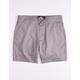 RSQ Twill Gray Mens Chino Shorts