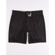 RSQ Twill Black Mens Chino Shorts
