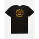 BRIXTON Oath Black Boys T-Shirt