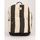 BRIXTON Trail III Stripe Black Backpack