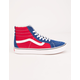 VANS Two-Tone Comfycush Sk8-Hi Reissue True Blue & Chili Pepper Shoes