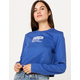 SPALDING Chest Branded Crop Womens Tee