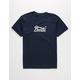 BRIXTON Stith IV Navy Boys T-Shirt