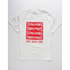 SPALDING Split Wordmark Mens T-Shirt