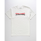 SPALDING Repeat Wordmark Mens T-Shirt