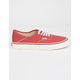 VANS Authentic SF Mineral Red & Marshmallow Shoes