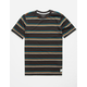 QUIKSILVER Coreky Black Boys T-Shirt