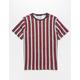 DCBD Striped Black & Red Boys T-Shirt