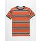 QUIKSILVER Coreky Black Stripe Boys T-Shirt