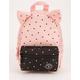 PARKLAND Little Monster Polka Dot Quartz Mini Backpack