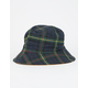 Plaid Print Reversible Womens Bucket Hat