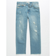LEVI'S High Rise Ankle Ripped Medium Wash Girls Skinny Jeans