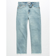 LEVI'S High Rise Ankle Light Wash Girls Skinny Jeans