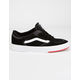 VANS Rowley Classic Black & Red Shoes