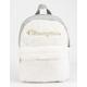 CHAMPION Textile White & Gray Mini Backpack