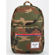 HERSCHEL SUPPLY CO. Pop Quiz Woodland Camo & Multi Zip Backpack