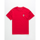 VOLCOM Deadly Stone Cardinal Boys T-Shirt