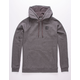 UNDER ARMOUR Rival Charcoal Mens Hoodie