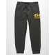 VOLCOM Booker Heather Black Mens Sweatpants