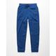 HOLLYWOOD Honeycomb Royal Blue Boys Jogger Pants