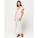 ROXY Furore Lagoon Stripe Maxi Dress
