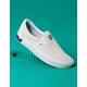 VANS ComfyCush Distort Slip-On Blanc & Black Shoes