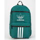 ADIDAS National 3-Stripes Green Backpack