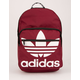 ADIDAS Trefoil Pocket Burgundy Backpack