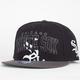 47 BRAND Blockhouse White Sox Mens Snapback Hat