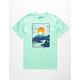 RIOT SOCIETY Mountain Fuji Mens T-Shirt
