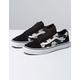 VANS Romantic Floral Old Skool Black & True White Womens Shoes
