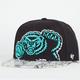 47 BRAND Black Mamba Grizzlies Mens Snapback Hat